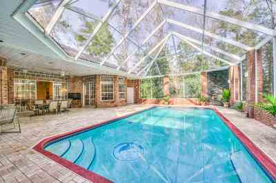 tallahassee Single Family Home For Sale: 2165 Lake Brooke Drive
