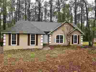 tallahassee Single Family Home For Sale: 8120 Holly Ridge Trail