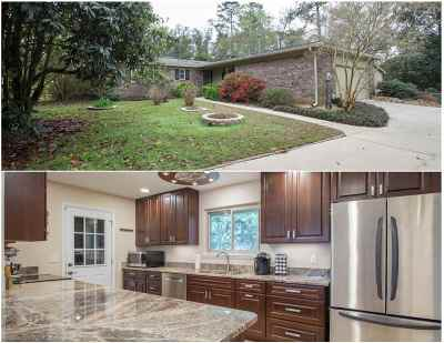 tallahassee Single Family Home For Sale: 3814 Leane Drive