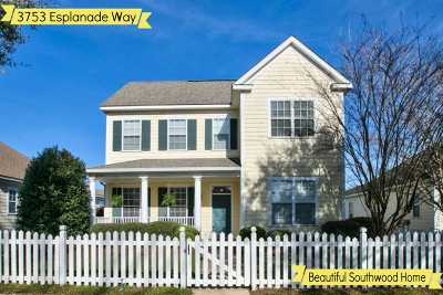 tallahassee Single Family Home For Sale: 3753 Esplanade Way