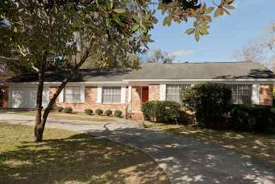tallahassee Single Family Home For Sale: 5104 Clarecastle Drive