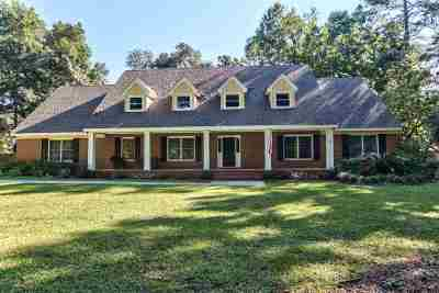 tallahassee Single Family Home For Sale: 2505 Noble Drive