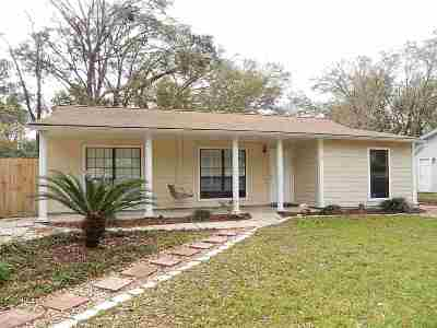 Tallahassee FL Single Family Home Contingent: $165,000