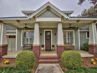 Tallahassee Single Family Home New: 4212 Summertree Drive