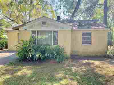 tallahassee Single Family Home New: 1221 Coleman Street