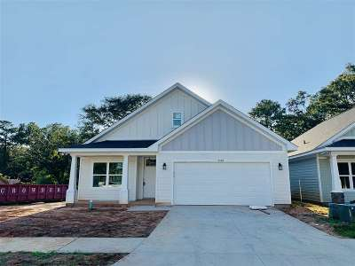 Tallahassee FL Single Family Home Contingent: $248,000
