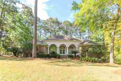 Tallahassee Single Family Home For Sale: 2162 W Golden Eagle Drive