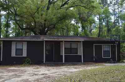 tallahassee Single Family Home For Sale: 9352 Miccosukee Road