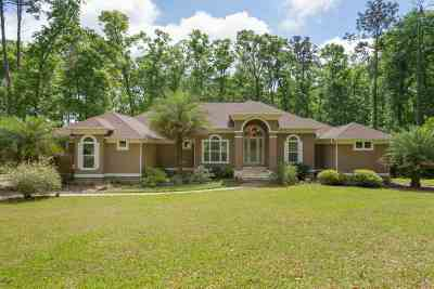 Tallahassee Single Family Home For Sale: 7047 Ox Bow