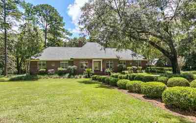 Tallahassee Single Family Home For Sale: 7022 Standing Pines Lane