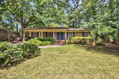 tallahassee Single Family Home For Sale: 1402 Nancy Drive