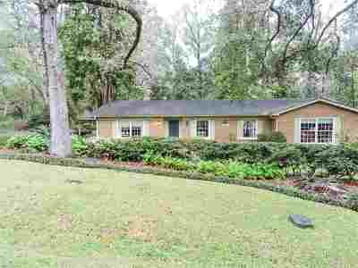 Tallahassee Single Family Home New: 1006 Lasswade Drive