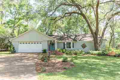 Tallahassee Single Family Home For Sale: 3675 Lake Charles Drive
