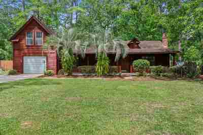 tallahassee Single Family Home For Sale: 8030 E Briarcreek Road