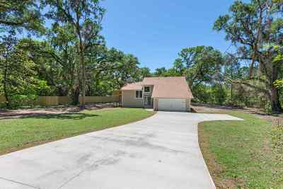 Tallahassee Single Family Home New: 438 Groveland Hills Drive