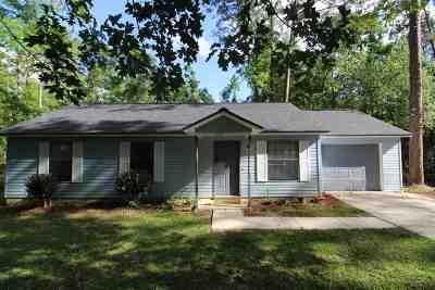 Tallahassee Single Family Home New: 8224 Hunters Ridge Trail