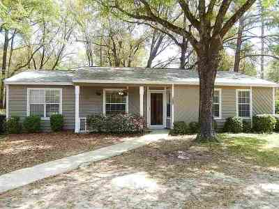 tallahassee Single Family Home For Sale: 6215 Bombadil Drive