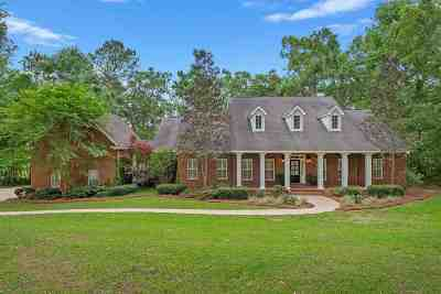 Tallahassee Single Family Home For Sale: 5986 Miles Blake Court