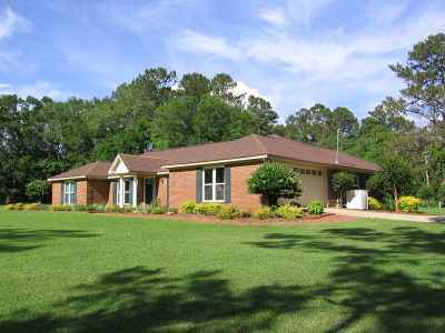 tallahassee Single Family Home For Sale: 5121 Williams Road