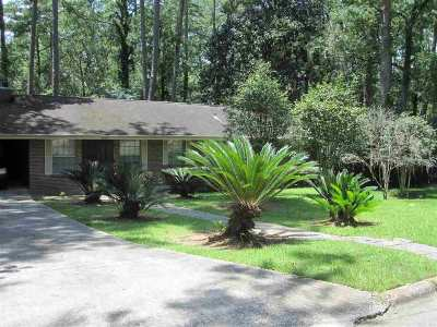 tallahassee Single Family Home For Sale: 2000 Old Fort Drive