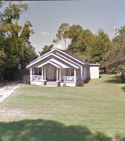 tallahassee Single Family Home For Sale: 1526 Blountstown Street