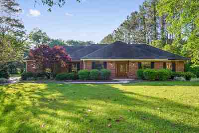 Tallahassee Single Family Home For Sale: 6072 Pickwick Road