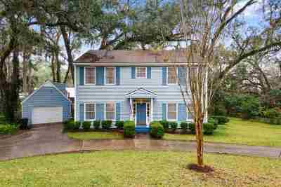 tallahassee Single Family Home For Sale: 3129 Cabot Drive