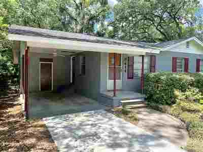 tallahassee Single Family Home For Sale: 414 Revell Street