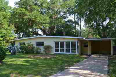 tallahassee Single Family Home For Sale: 716 Coble Dr