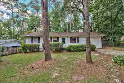 tallahassee Single Family Home New: 1904 Hideaway Court