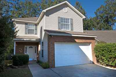 tallahassee Single Family Home For Sale: 3204 Castle
