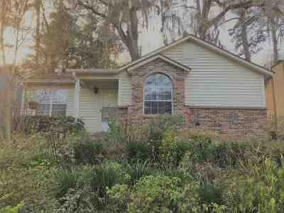 tallahassee Single Family Home For Sale: 1555 Sprucewood Trail
