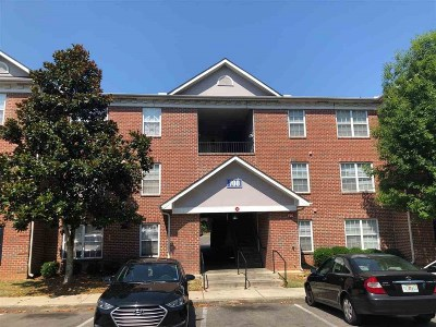 tallahassee Condo/Townhouse For Sale: 3000 S Adams Street #712