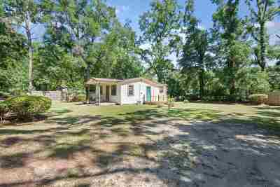 tallahassee Single Family Home For Sale: 209 Sunday