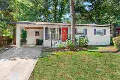 tallahassee Single Family Home For Sale: 2043 Faulk Drive