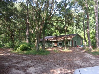 tallahassee Single Family Home For Sale: 8541 Bud Spence