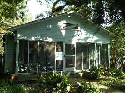 tallahassee Single Family Home For Sale: 1241 N Bronough Street