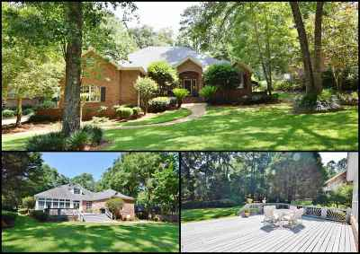 tallahassee Single Family Home Reduce Price: 8924 Winged Foot Drive