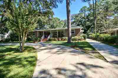 tallahassee Single Family Home For Sale: 2109 Spence Avenue