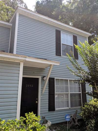 tallahassee Condo/Townhouse For Sale: 2193 N Timberwood Circle