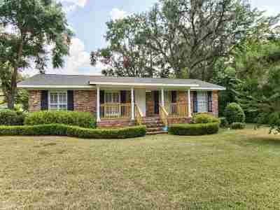 tallahassee Single Family Home For Sale: 1149 Camellia Drive