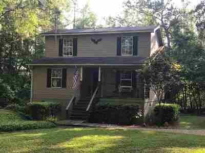 tallahassee Single Family Home For Sale: 1796 Lafayette Cove Road