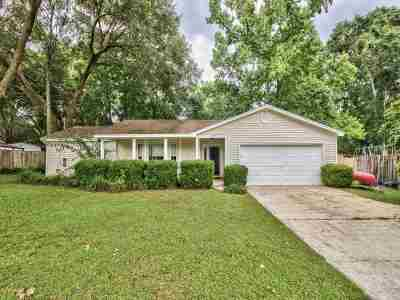tallahassee Single Family Home New: 6704 Hill Gail Trail