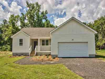 tallahassee Single Family Home For Sale: 141 China Doll Drive