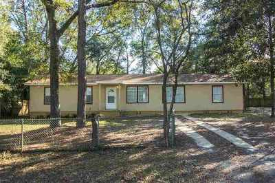 tallahassee Single Family Home New: 811 Brent Drive