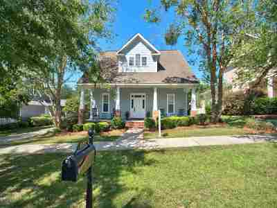 Tallahassee Single Family Home New: 3157 Baringer Hill Drive
