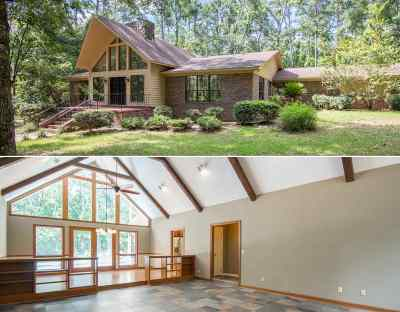 tallahassee Single Family Home For Sale: 7001 Duck Cove Road