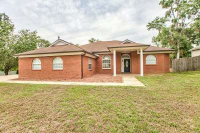 Tallahassee Single Family Home New: 5408 Moores Mill Road