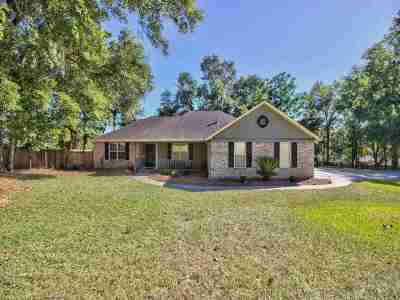 tallahassee Single Family Home New: 5705 Countryside Drive
