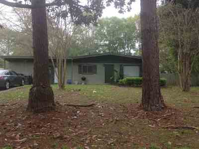 tallahassee Single Family Home For Sale: 2302 Oxford Drive